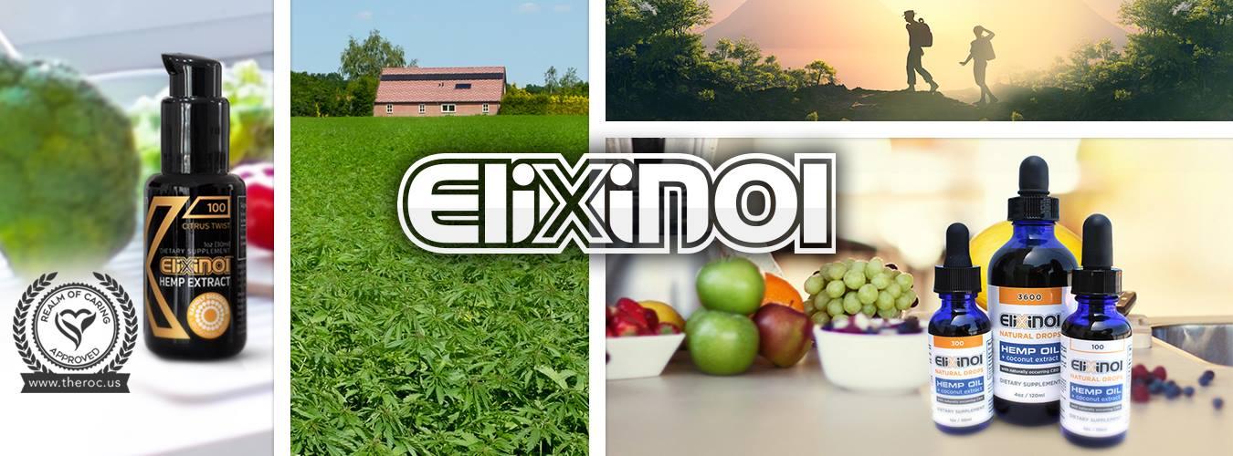 Elixinol CBD product line