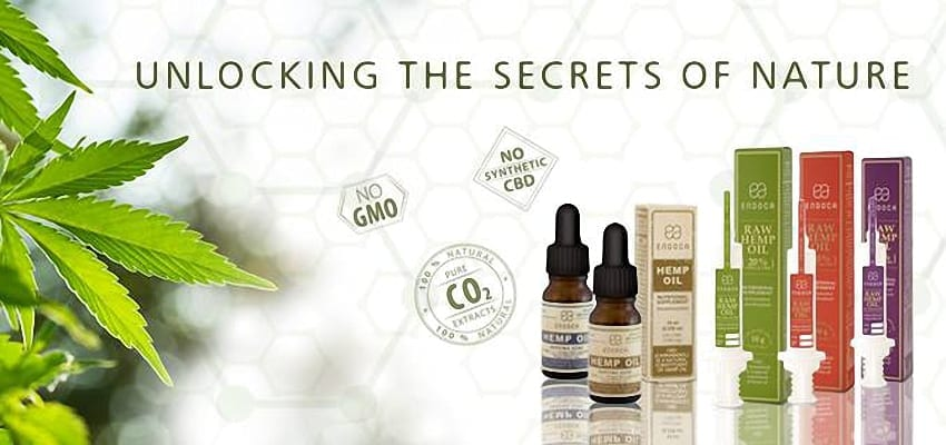 Endoca CBD products