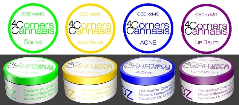 4 Corners Cannabis CBD Products