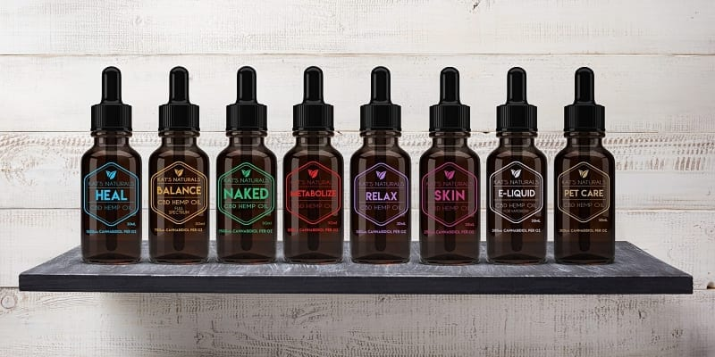 Kat's Naturals CBD Products