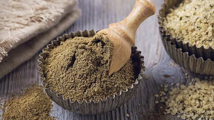 hemp-flour